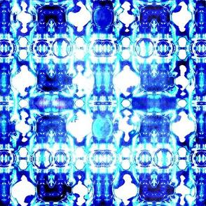 Shibori  Sooooo Blue  - Abstract