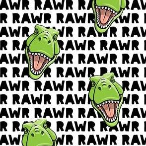 Tyrannosaurus rex  - RAWR black - dinosaur trex LAD19BS