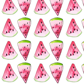 Watercolor-Watermelons-Summer-Fruit