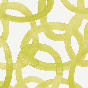 Citron Yellow Circles