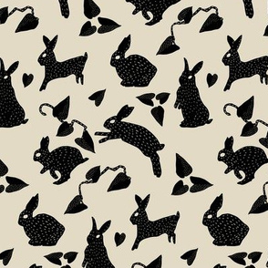 Wild Hare Play in Black