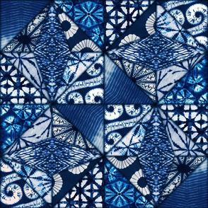 Vintage Shibori Quilt