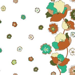 Kitchenette Flowers LG - Glamping