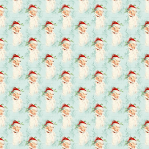 North Pole: Santa Blue