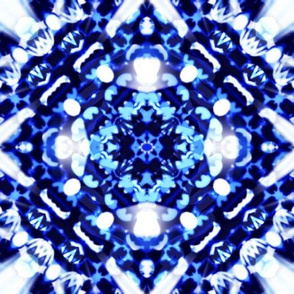 Shibori Lace / Blue & White