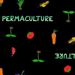 Permaculture noir black