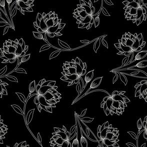 Lotus in Black (large)