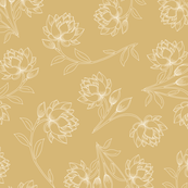 Lotus in Gold (large)