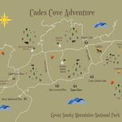 Cade's Cove Playmat