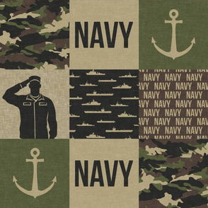Navy - Military Wholecloth - OG - LAD19