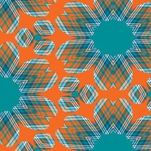 The Aqua and the Orange: Floradots