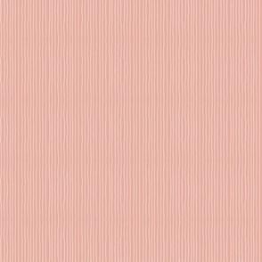 Summer Seaside Peach Stripe