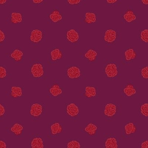 Fall Fairytale Rose Polkadot