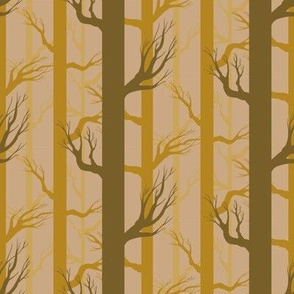 Fall Fairytale Forest in Gold
