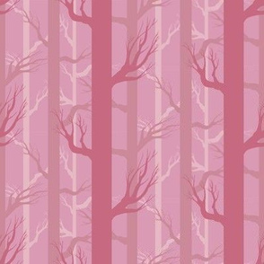 Fall Fairytale Forest in Pink