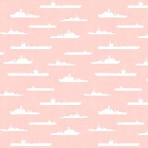 Naval Fleet - pink -  LAD19