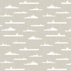 Naval Fleet - beige - LAD19