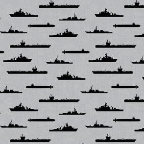 Naval Fleet - grey and black - LAD19