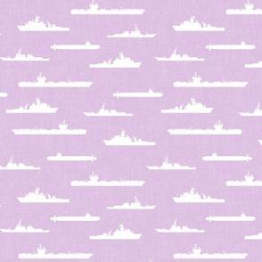 Naval Fleet - purple  - LAD19