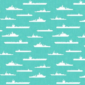 Naval Fleet - teal  - LAD19