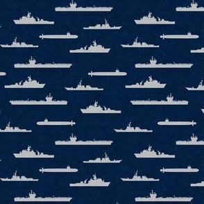 Naval Fleet - navy and grey - LAD19