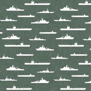 Naval Fleet - sage  - LAD19