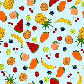 Summer fruit salad smallscale