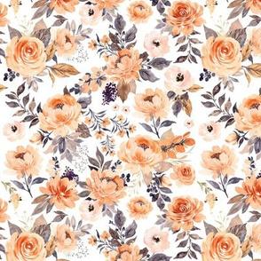 Small // Pretty Peach Flowers