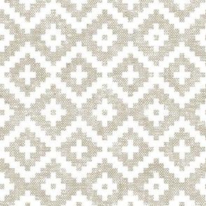 woven aztec || beige  LAD19