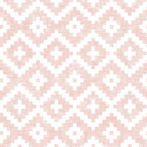 woven aztec || pink LAD19