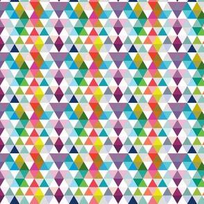 rainbow baby triangles // micro