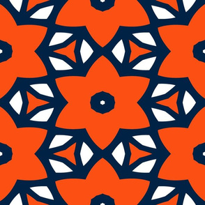 The Navy and the Orange: Star Flower Jungle