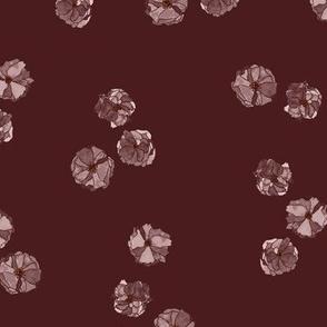 Romantic prunus flower
