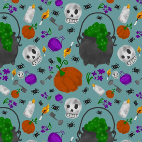 Halloween Jumble  ( Small Scale )