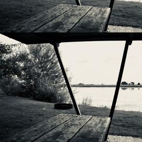 silvertone bench