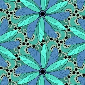 Turquoise Tipping