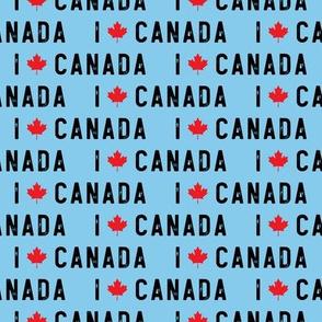 I love Canada - blue - LAD19