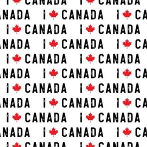 I love Canada - white - LAD19