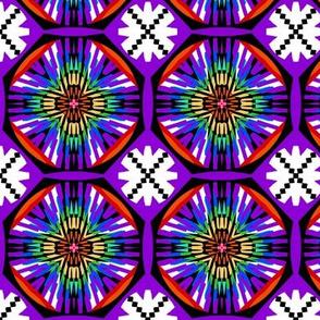 Rainbow Reverie   - Paper Cuts on Purple