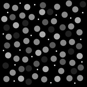 Noir Spots - black and white