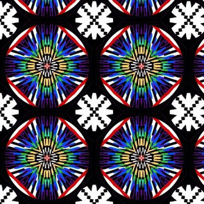 Rainbow Reverie   - Paper Cuts on Black