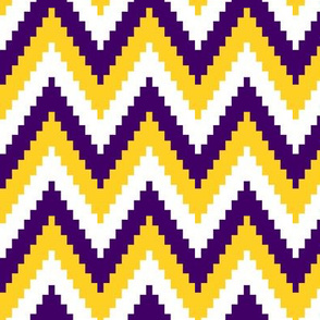 ric rac // dark purple and gold C19BS