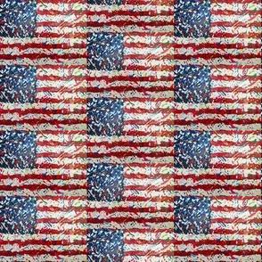USA Mini summer confetti flag