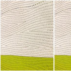 quilt  napkin green final