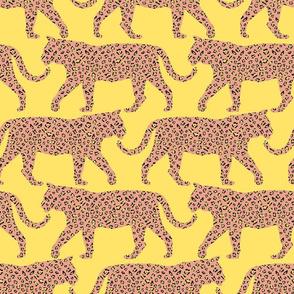 Tiger Animal Print - yellow