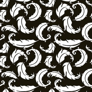 Duck Feathers ~ Black