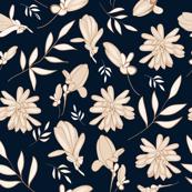 Navy Magnolia