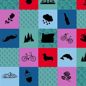 Portland Icons Quilt