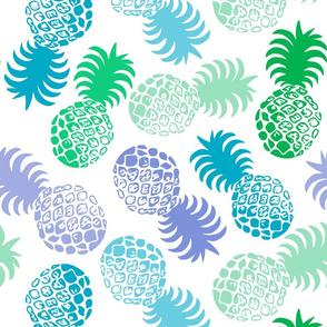 Hawaiian Tropical Pineapple  - Mint Green