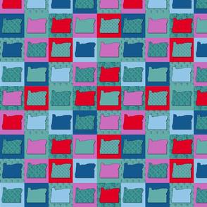 Oregon/PDX Carpet Quilt_medium scale
